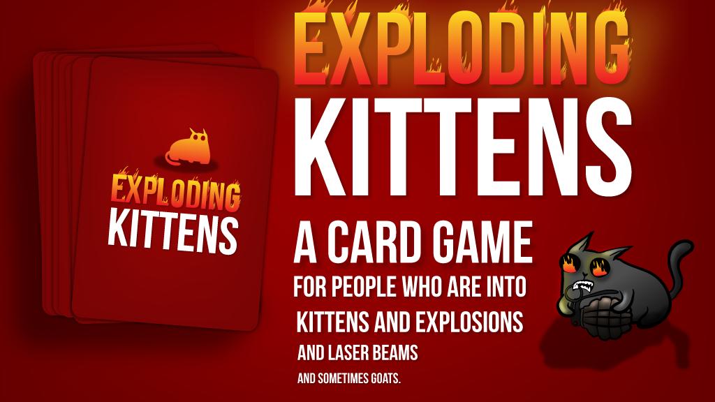 Explodind Kittens เกมออนไลน์ในคอม